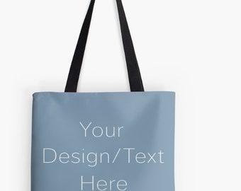 Create Your Own, Custom Design, Tote Bag, Personalized Tote, Custom Order, Design Your Own Tote