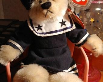 TY Beanie Baby Breezy, nautical bear breezy, Nautical, Boating, Seashore, beach Decor