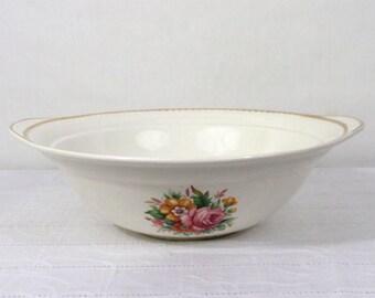 Vintage Serving Bowl Cobridge Staffordshire Portland Pottery England