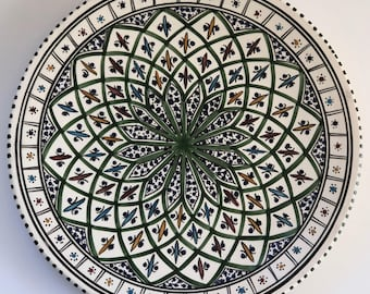 Platter Tunisian Earthy Green