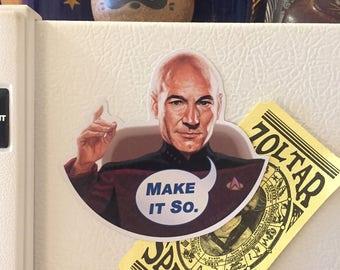 Star Trek PICARD Refrigerator Magnet