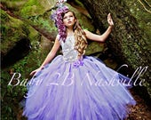 Lavender Dress Cameo Lace...