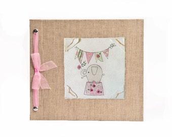 Baby Book - Baby Memory Book - Elephant, Baby Album - Elephant (Girl) Baby Memory Book - Hugs and Kisses XO Baby Memory Book