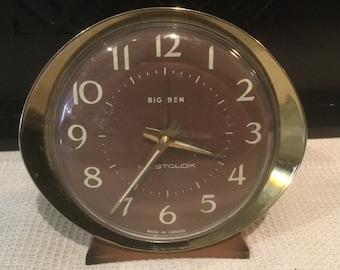 Vintage Westclox Big Ben Alarm Clock - Made in Canada