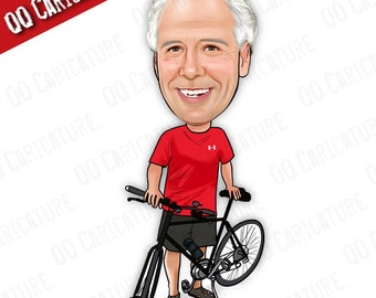 Custom Caricature from Photo (style#01)