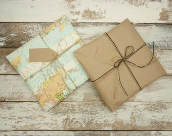 Gift Wrapping Service, Add-on Service, rustic wrapping, wrapping paper, Scottish Gift, Mens Gift, Luxury wrapping paper