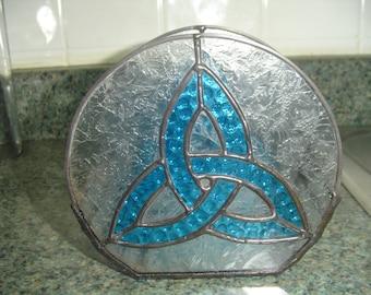 Celtic candle holder