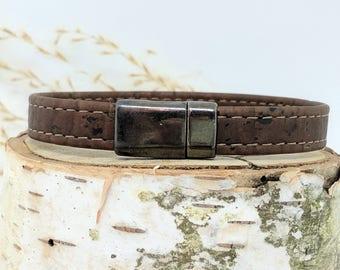 Magnetic Bracelet Clasp - 10mm - Gun Metal