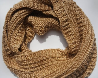 Oversized Striped Cowl