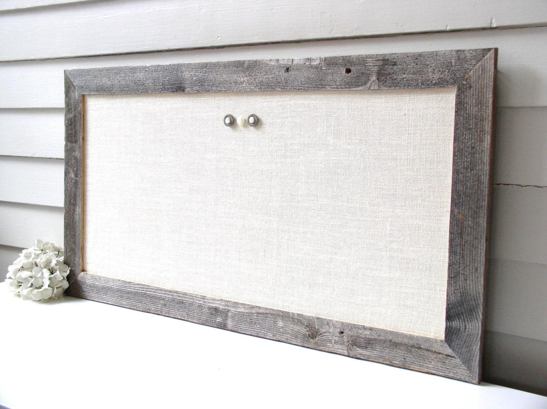 Barnwood marco tablón magnético reclamado reciclado resistido