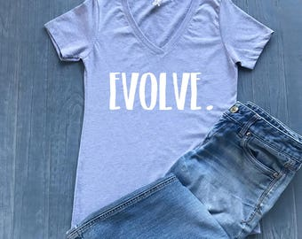 Evolve Shirt - Evolution Shirt - Evolve Tshirt - Evolve Tee - Evolve - Evolution