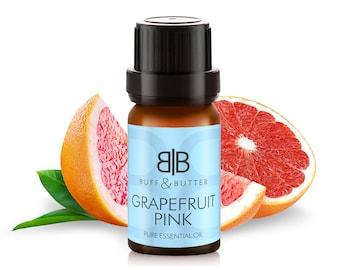 Grapefruit Pink (Citrus Paradisi) Peel Essential Oil 100% Pure Natural Fragrance Aromatherapy - 1ml, 10ml, 30ml, 50ml, 100ml Bottle