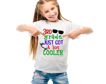First Grade Second Grade Third Grade Fourth Grade Fifth Grade just got a lot cooler back to school t-shirt
