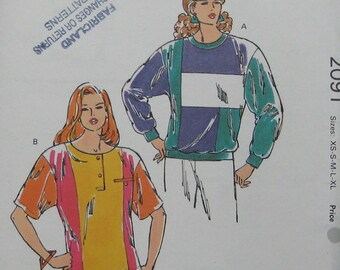 Kwik Sew Top Serge Pattern 2091