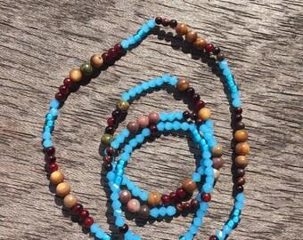 Moroccan- Choker and Bracelets