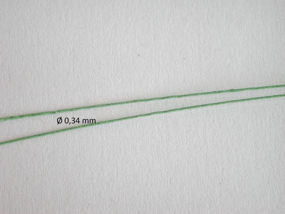 Paper wrapped wire in green for plants, for tinkering for the doll room, Dollhouse miniatures, model making,