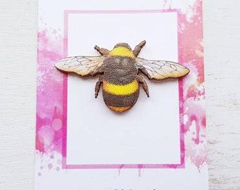Bee brooch Bee pin bee jewellery. Worker Bee brooch pin Bee Keeping jewellery Queen bee Bumble Bee jewellery  Bee accessories bee badge