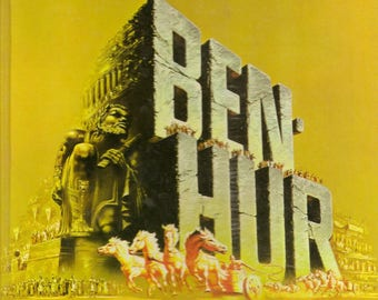 The Story of the Making of Ben-Hur – A Tale of the Christ Vintage 1959 Movie Book Metro-Goldwyn Mayer