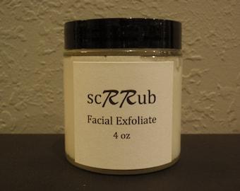 scRRub Facial Exfoliate sugar scrub cleanser wash moisturizer skincare conditioner treatment
