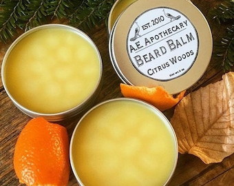 Beard Balm - natural skincare - fathers day gift -  Beard oil gift for him - guys gift - beard conditioner  - man grooming