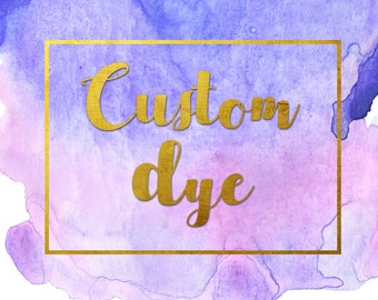 Custom Dye Labor Charge from our Dye room at Moonlight Feather : 2169