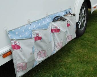 Caravan shoe tidy, Motorhome tidy, Awning organiser