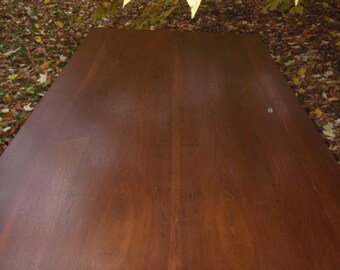 My Favorite Walnut Parsons Table