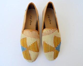 45 men euro size (30 cm - 12 inch) kilim shoes