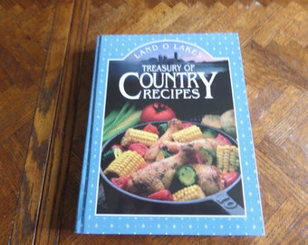 Land o Lakes Treasure of Country Recipes  Cookbook