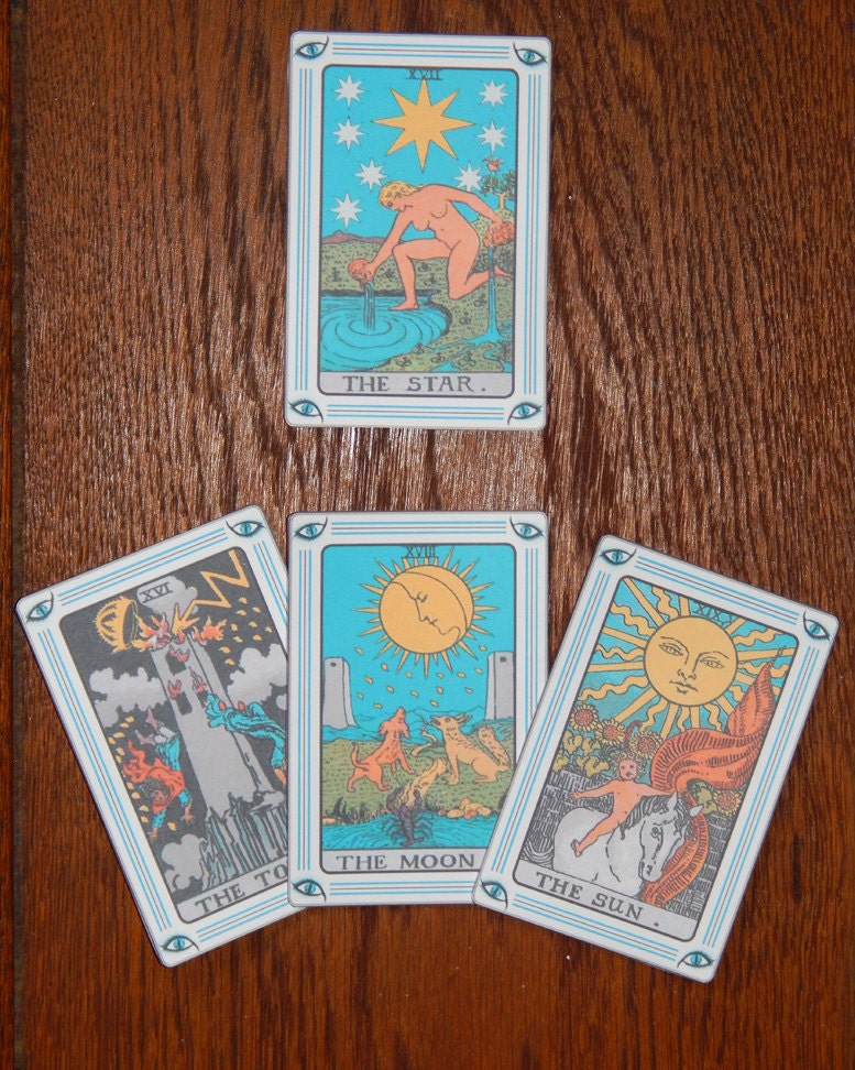 Print Your Own Tarot Cards Printable Tarot Cards Full 78