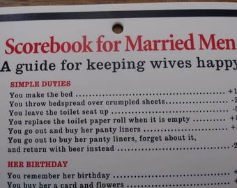 Funny sign for husband