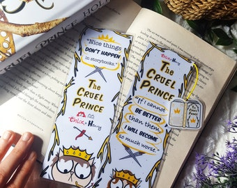 The  Cruel Prince  bookmark handmade