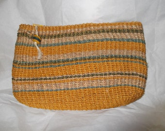 Vintage Straw Evening Bag
