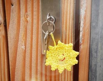 Keychain Sun Pattern