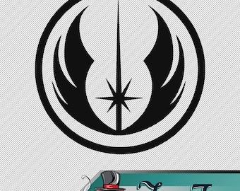Vinyl Decal - Star Wars - Jedi Order Logo