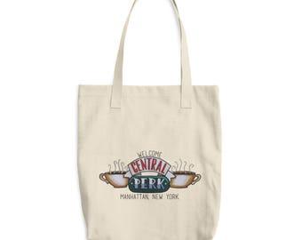 Central Perk Cotton Tote Bag