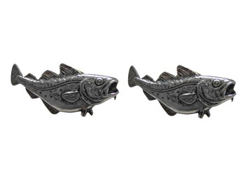 Cod Fish Cufflinks