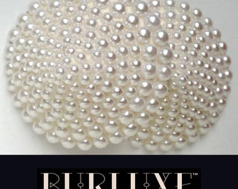 Pearly Queen Burlesque Pasties Pearl Beads Made to Order