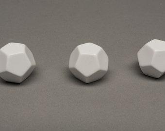 12-sided blank dice