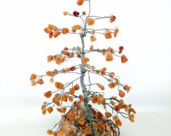 Custom Order Gem Trees, Pine Trees, Wire Tree Sculpture, Tree of Life, Crystal Trees, Gemstone Trees, Birthday Gift, Anniversary Gift
