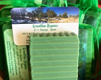 Soap, Home Made Soap, Organic Soap, Spruce Scented Soap, Coconut Oil Soap, GreenMan Organics, Desert Druid Botanicals, Boho Soap,All Natural