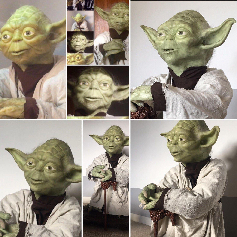 Ausverkauf Star Wars Yoda-Puppe 1/1 benutzerdefinierte Leben