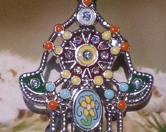 Hamsa Hair Jewelry