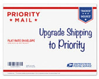 Upgrade To Priority Shipping 2 to 3 Days USPS Priority Upgrade from First Class Domestic ReVintageLannie