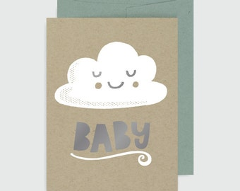 Baby Card - Baby Cloud