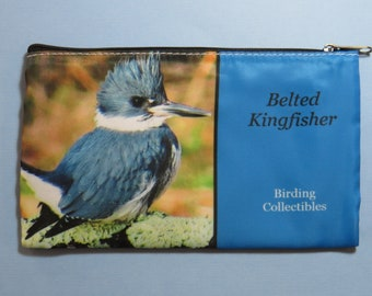 Belted Kingfisher Carry Pouch