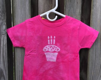 Kids Birthday Shirt, Third Birthday Shirt, Boys Birthday Shirt, Girls Birthday Shirt, Cupcake Birthday Shirt, Kids Birthday Shirt (3T)