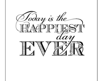 Happiest Day Ever Card