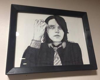 Gerard Way Original Drawing