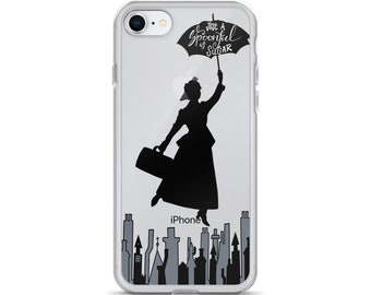 Poppins Just a Spoonful of Sugar iPhone Case